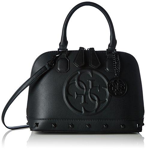 guess-korry-small-dome-satchel-sacs-a-main-femme-noir-nero-taille-unique
