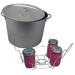 20 Quart Flat Bottom Water Bath Canning Set