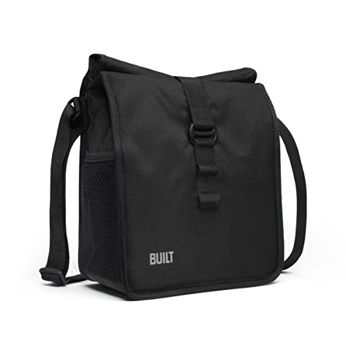 Big Save! BUILT NY Crosstown Insulated Lunch Bag, Black