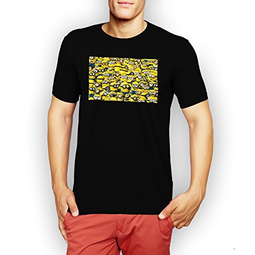 Lots-Of-Minions-XXL-Hombres-T-Shirt