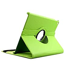 """TGKâ""""¢ 360 Degree Rotating Leather Smart Case Cover Stand for iPad Air 2 / iPad Air 6 (Green)"""