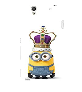 EPICCASE Minion King Mobile Back Case Cover For Sony Xperia C4 (Designer Case)