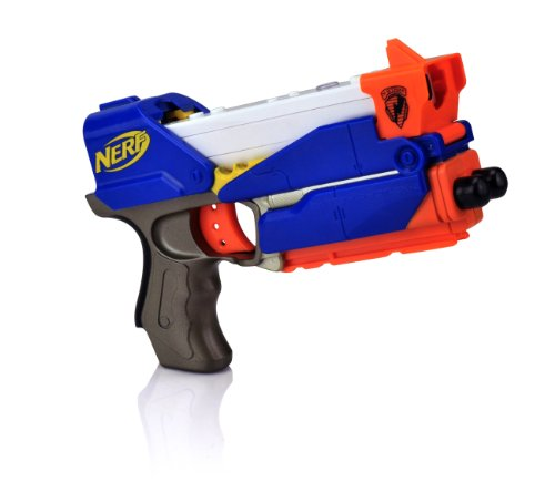 Wii Nerf Switch Shot Pistol with Red Reveal