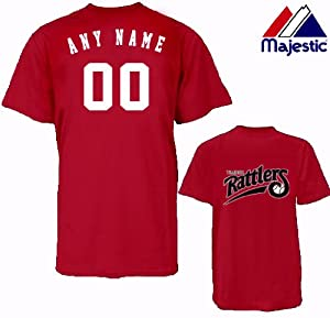 CUSTOM WISCONSIN TIMBER RATTLERS JERSEY (Add Name & Number) 100% Cotton MiLB... by Authentic Sports Shop