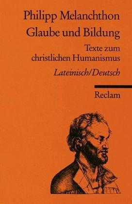 Glaube und Bildung: Lat. /Dt.