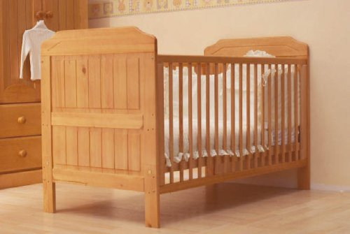 Alex Cotbed Cot Bed Antique Pine