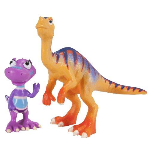 Tomy International Dinosaur Train Mr. Maiasaura And Daphne Dinovision 2 Pack front-95049