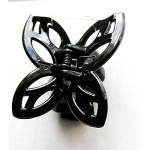 black mini butterfly hair