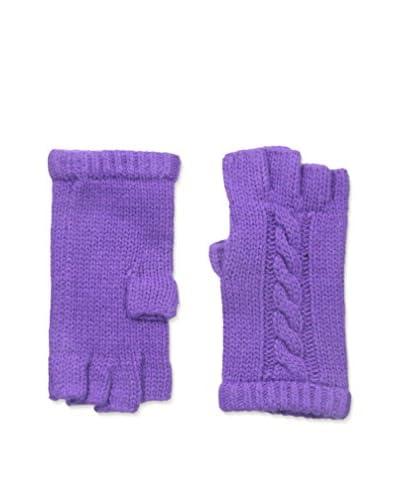 Portolano Women's Fingerless Glove, Royal Lilac