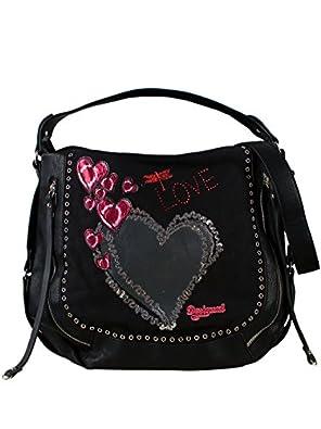 desigual femme sac a main marteta heart punk nouvelle collection chaussures et sacs. Black Bedroom Furniture Sets. Home Design Ideas