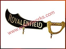 Enfield Works Brass Made Chromed Big Sword For Royal Enfield ...