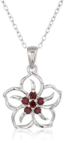 sterling-silver-garnet-flower-pendant-necklace-18