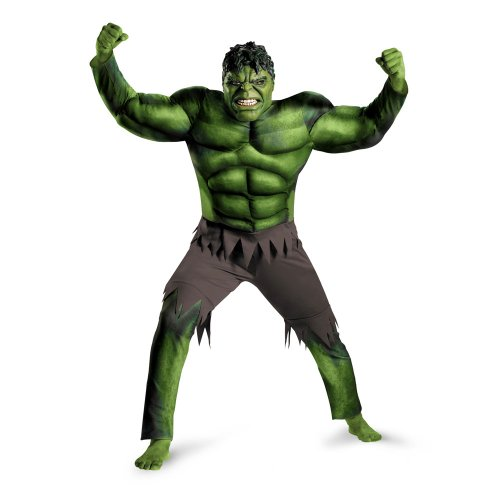Adult Hulk Costume Avengers Muscle Costume Avengers Movie Costume 43692