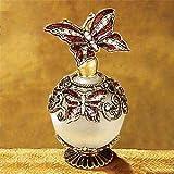 StealStreet SS-A-51617 Butterfly Crystal Jewel Fragrance Perfume Bottle