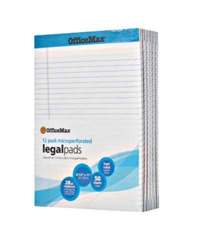 office-max-legal-pad-85x11-pack-12