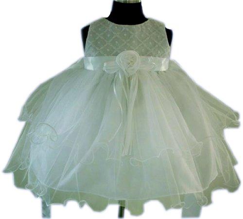 Flower Girls White Daisy Dress 3 months - 5years
