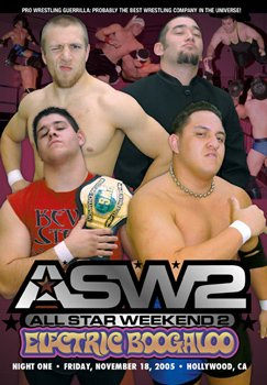 Pro Wrestling Guerrilla: Pwg All Star Weekend 2 Electric Boogaloo - Night 1 Dvd
