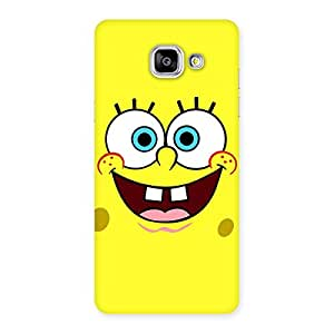 Enticing Spong Yellow Back Case Cover for Galaxy A5 2016