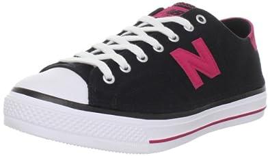 New Balance Women's Wcpt Lifestyle Courtfashion Sneaker,Black/Pink,7.5 B US