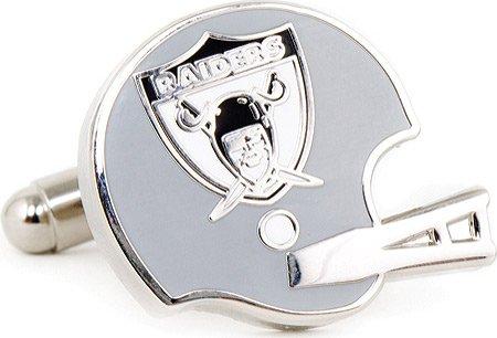 Retro Oakland Raiders Helmet Cufflinks Novelty 1 x 1in