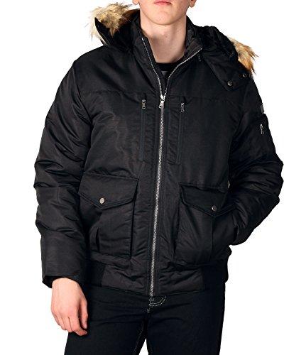 sean-john-mens-hooded-bomber-jacket-with-faux-fur-trim-black-large