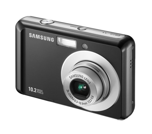 Samsung ES15 Digital Camera - Black (10MP, 3x Optical Zoom) 2.5 inch LCD :  digital cameras digital blue samsung es15 digital camera black 10mp
