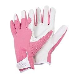 Briers Ladies Gardening Gloves Pink One Size