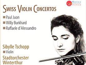 Swiss Violin Concertos: Sibylle Tschopp Violin