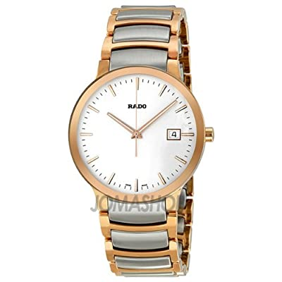Rado Centrix Automatic Two-Tone Stainless Steel Mens Watch R30554103 from Rado