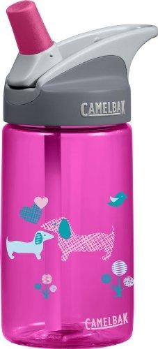 CamelBak Kinder Trinkflasche Eddy Kids Puppies, pink, 0.4 lt, 53447