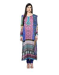 Yepme Calista Salwar Kameez Set - Blue -- YPMRTS0214_Free Size