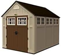 Big Sale Suncast BMS8000 7-1/2-Feet by 10-1/2-Feet Alpine Shed