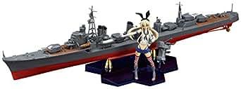 PLAMAX KC-01 艦隊これくしょん -艦これ- 駆逐艦×艦娘 島風 1/350スケール PS・ABS製 組み立て式プラスチックモデル