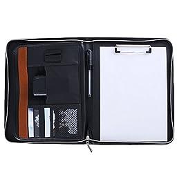 Maxnote Business Portfolio Executive Conference Folder Travel Portfolio Zipped Organiser