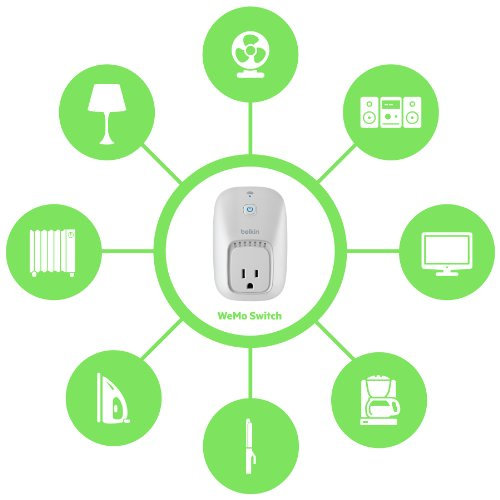 Belkin Wemo Home Automation Switch for Apple iPhone/iPad/iPod Touch and Android Devices
