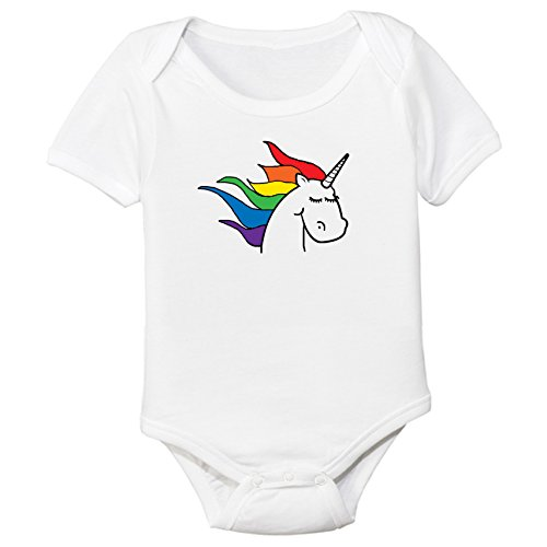 Rainbow-Unicorn-Organic-Cotton-Baby-Bodysuit