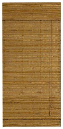 Radiance 0216108 Capri Bamboo Roman Shade Natural 27x72