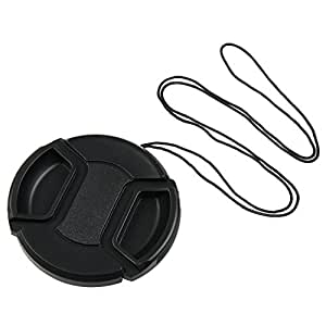 eForCity 58mm Lens Cap Cover Compatible with Canon Rebel XTi XSi XS T1i T2i