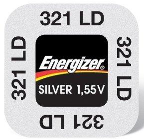 Energizer 321 Pile à oxyde d'argent 1,55 V