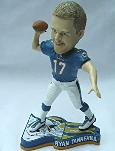 Ryan Tannehill Miami Dolphins NFL 2013 Pennant Base Bobblehead by Forever Collectibles
