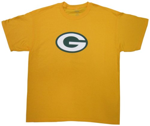 Green Bay Packers Primary Logo Gold T-Shirt