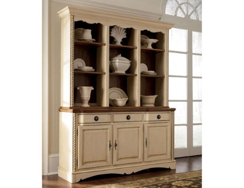 Buy Low Price Cross Island Buffet And Hutch D319 80