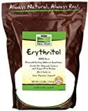 100% Pure Erythritol Crystalline Now Foods 2.5 lb Granules