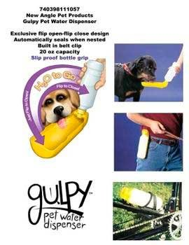 41dUBck4FhL. SL500  Gulpy Dog Water Bottle