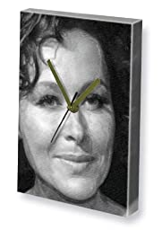 AMANDA MEALING - Canvas Clock (LARGE A3 - Signed by the Artist) #js001