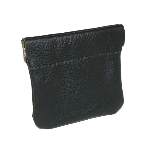 Squeeze Coin Pouch by North Star (Black)