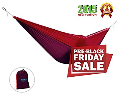 Yes4All Ultra Light Hammocks - Purple/Red - ²QPHAZ
