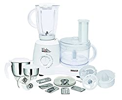 Inalsa Wonder Maxie Plus V2 700-Watt Food Processor (White)