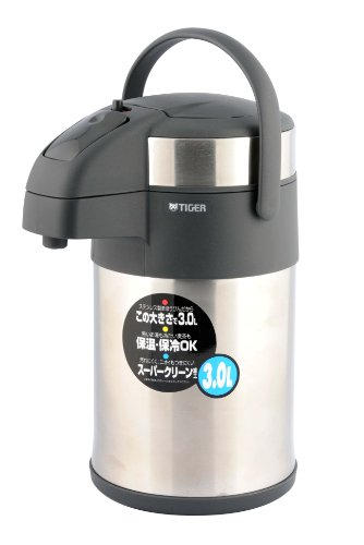 Tiger MAA-A300 3.0-Litre Pump Coffee/Tea Dispenser, Silver