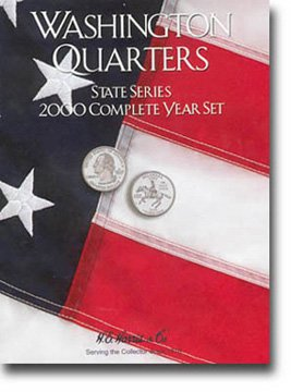 Harris Coin Folder - State Series Quarters Complete Year 2000 Ref#8HRS2583 by H.E. Harris (State Ref compare prices)